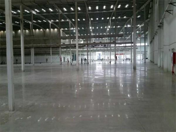 广东省东莞市某木业有限公司密封固化剂地坪案例