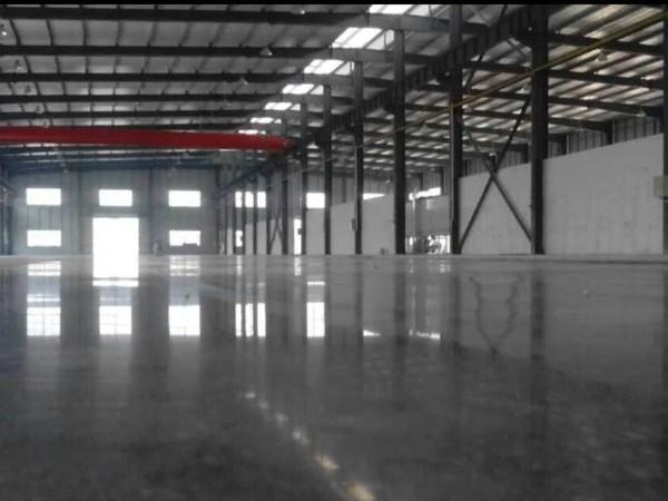景图玻璃制品有限公司混凝土密封固化剂地坪案例