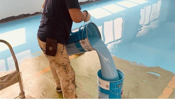环氧地坪漆生产厂家分享地坪漆调色注意事项