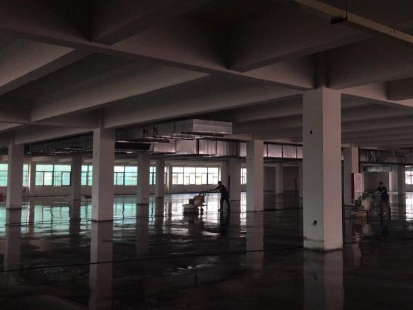 广东省东莞市某精密机械有限公司密封固化剂地坪案例