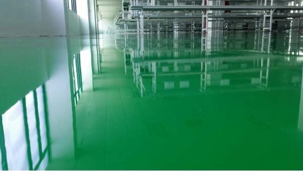 环氧地坪掉色的原因及解决方法