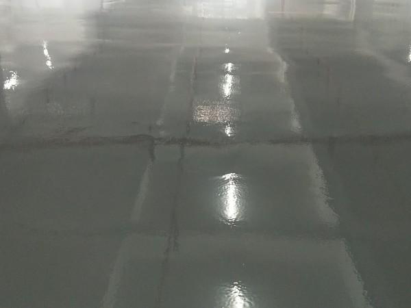 广东肇庆某家具厂淡灰环氧地坪漆案例