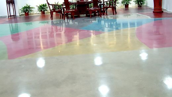 彩色混凝土密封固化剂地坪施工注意事项