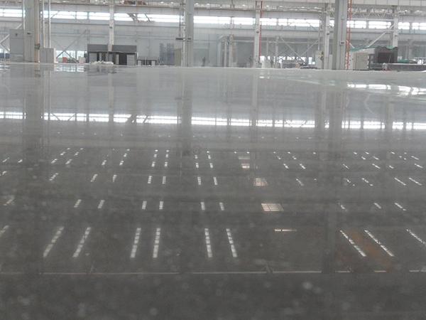 东莞冠牛木门密封固化剂地坪案例