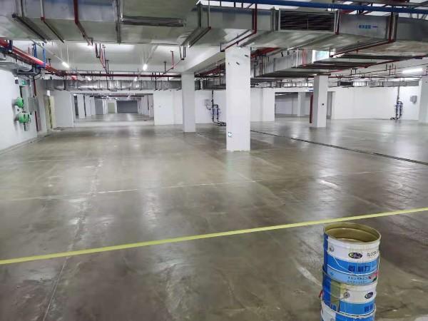广东中山某工业厂房地坪漆施工案例