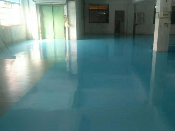广东江门某造纸厂环氧地坪案例