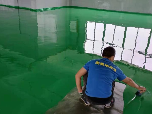 广西北海某食品厂环氧自流平案例