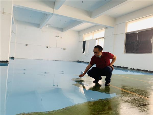 东莞华盟食品有限公司环氧自流平地坪案例