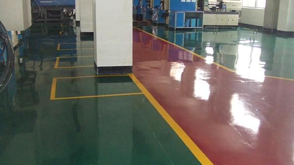 混凝土密封固化剂染色地坪1