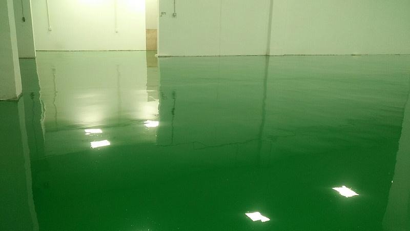 广东深圳环氧自流平案例
