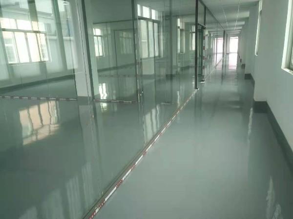 广东广州某办公楼环氧平涂地坪案例