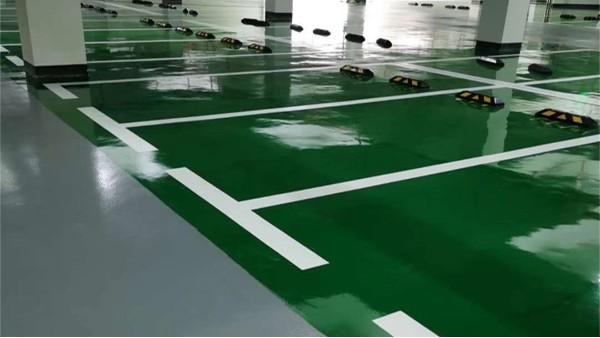 环氧停车场地坪常见问题及解决方法
