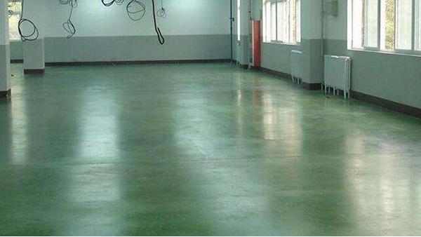 东莞市某机械公司金刚砂地坪案例
