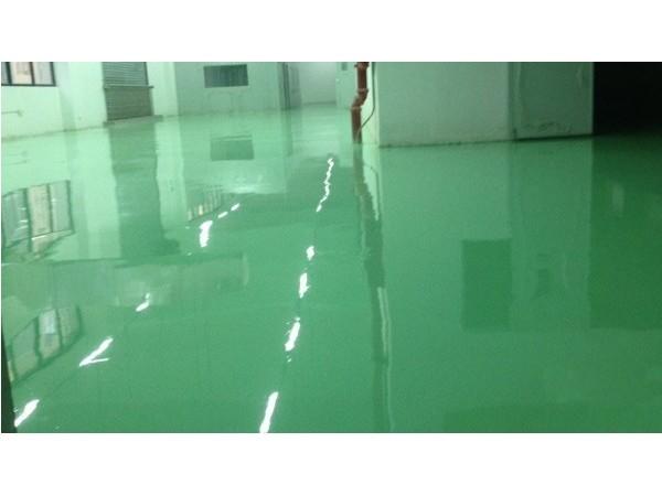 东莞市某电子有限公司环氧防静电自流平地坪案例